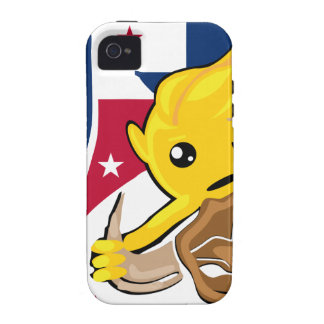 Texas Rodeo Smiley iPhone 4 Covers