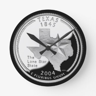 Texas Round Clock