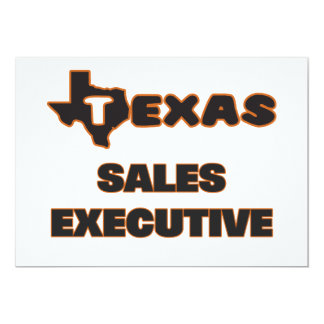 Texas Sales Executive 5x7 Paper Invitation Card