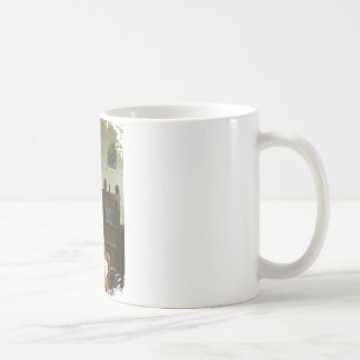 Texas School Girls Basic White Mug