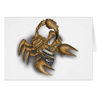 Texas Scorpion Card