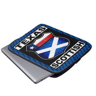 Texas Scottish American Laptop Sleeve