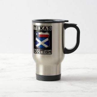 Texas Scottish American Travel Mug