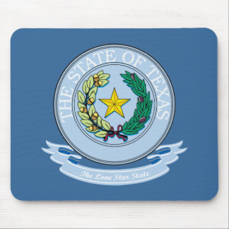 Texas Seal Mouse Mat