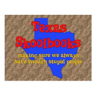 Texas Skoolbooks Postcard