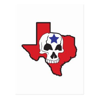 Texas Skull Postcard
