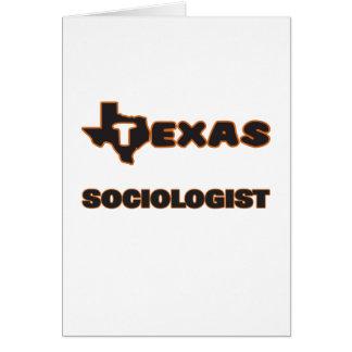 Texas Sociologist Greeting Card