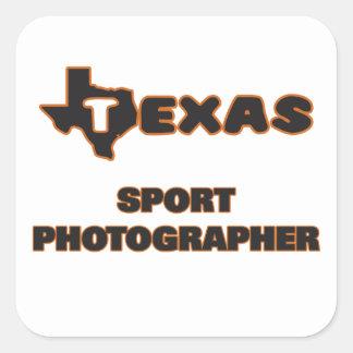 Texas Sport Photographer Square Sticker