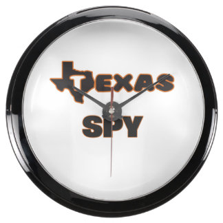 Texas Spy Aquavista Clock