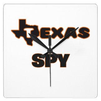 Texas Spy Wall Clocks