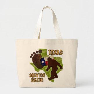 Texas Squatch Watch Jumbo Tote Bag