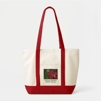 Texas Star Habiscus Tote Bag