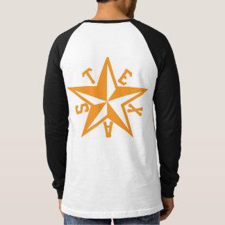 Texas Star Long-Sleeved Raglan Baseball Shirt