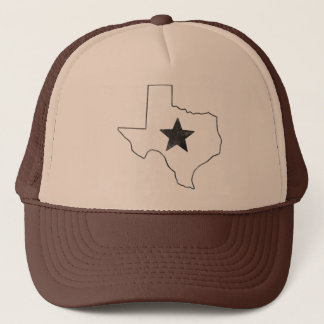 Texas State and Star Trucker Hat