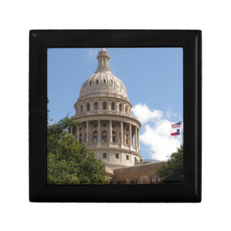 Texas State Capitol 2 Small Square Gift Box