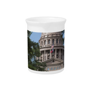 Texas State Capitol Beverage Pitchers