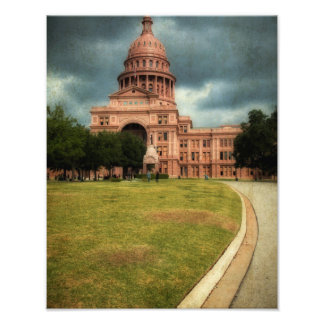 Texas State Capitol Building Photo Print