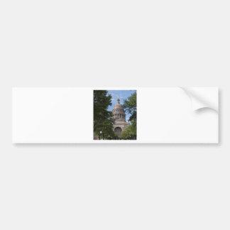 Texas State Capitol Bumper Sticker