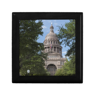Texas State Capitol Small Square Gift Box