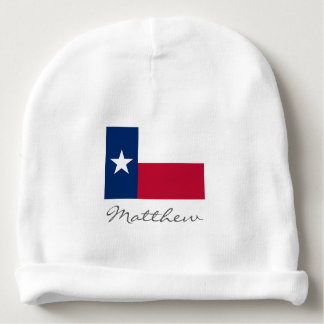 Texas state flag baby beanie hat for boy or girl