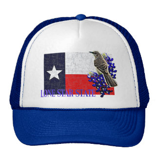 TEXAS STATE FLAG MESH HATS
