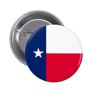 Texas State Flag Design 6 Cm Round Badge
