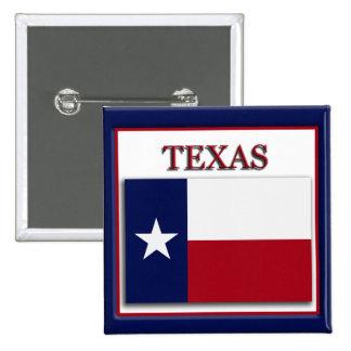 Texas State Flag Design Button