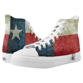 Texas State Flag High Tops