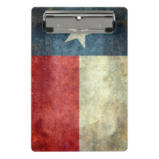 Texas State Flag Mini Clipboard