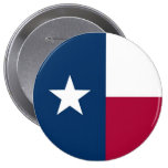 Texas State Flag Pinback Buttons