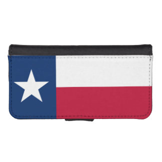 Texas State Flag Phone Wallet