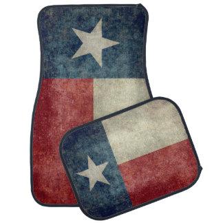 Texas state flag retro car mats set of 4