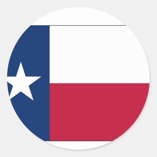 Texas State Flag Sticker
