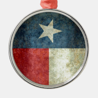 Texas state flag - vertical banner style christmas ornament
