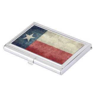 Texas state flag vintage Business Card Holder