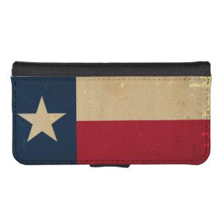 Texas State Flag VINTAGE Phone Wallet Case