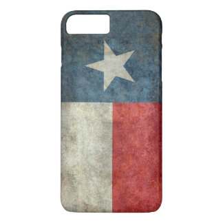Texas state flag vintage retro case iPhone 7 plus