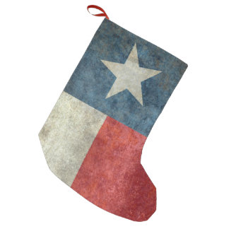 Texas state flag vintage retro Christmas Stocking
