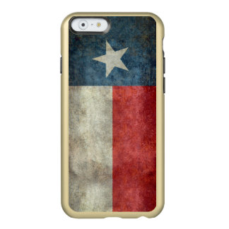 Texas state flag vintage retro gold iPhone case Incipio Feather® Shine iPhone 6 Case