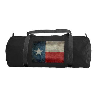 Texas state flag vintage retro Gym Duffle Bag Gym Duffel Bag