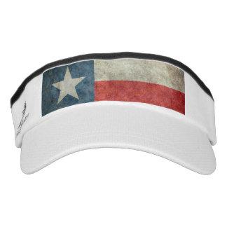 Texas state flag vintage retro Performance Visor