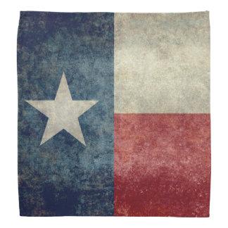 Texas state flag vintage retro style Bandanas