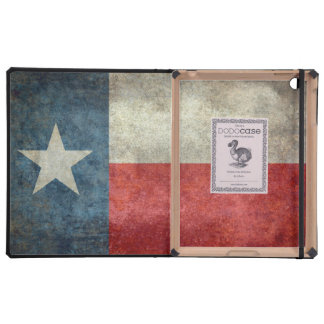 Texas state flag vintage retro style dodo case cases for iPad