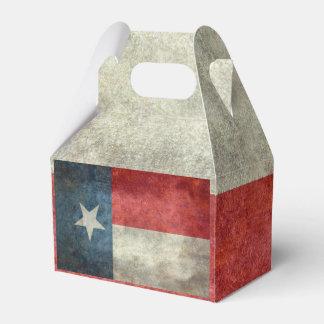 Texas state flag vintage retro style gift boxes