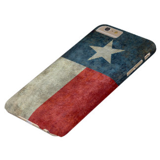 Texas state flag vintage retro style iPhone 6 case Barely There iPhone 6 Plus Case