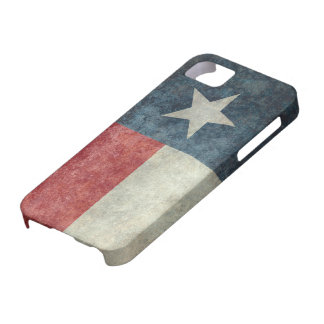 Texas state flag vintage retro style iPhone case