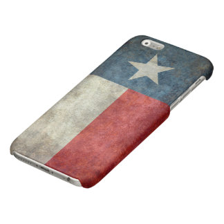 Texas state flag vintage retro style iPhone Case