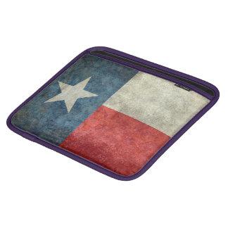 Texas state flag vintage retro style pad sleeve iPad sleeve