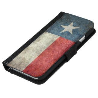 Texas state flag vintage retro wallet phone case iPhone 6 wallet case