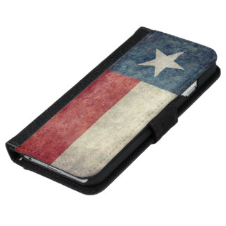 Texas state flag Wallet Case for iPhone & Samsung